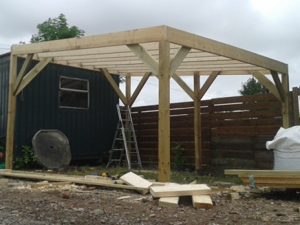 Woodstore-structure