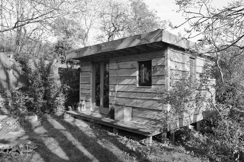 Larch Cabin © Gavin Joynt BW LR