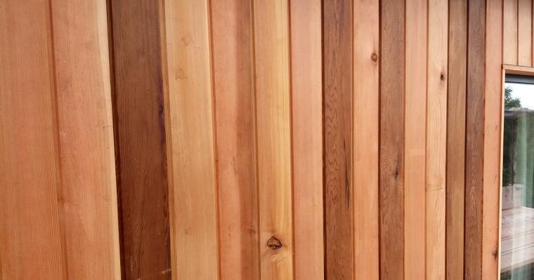 Cedar cladding 2